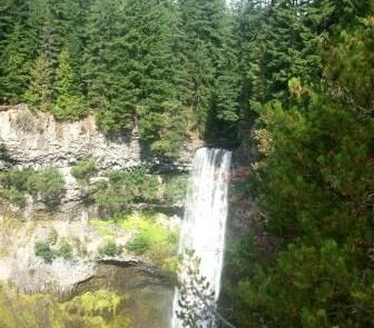 Squamish fall