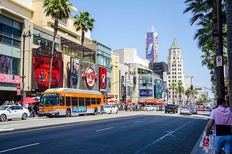 Recorrido Las Vegas a Los Ángeles