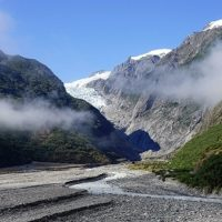 Rock Franzjosef Glacier South Island New Zealand