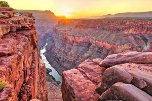 Panorámica desde el mirador de Toreweap, al rio Colorado