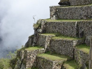 Peru Terrace Machu Picchu