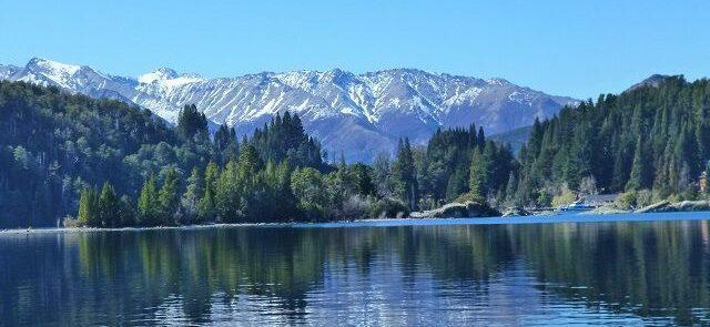 El lago Nahuel Huapi