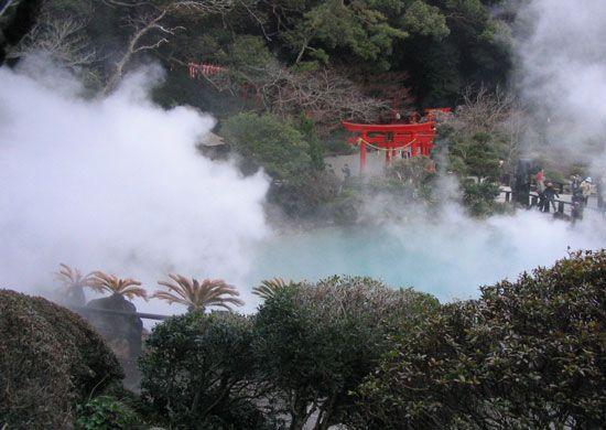 Onsen en Japón