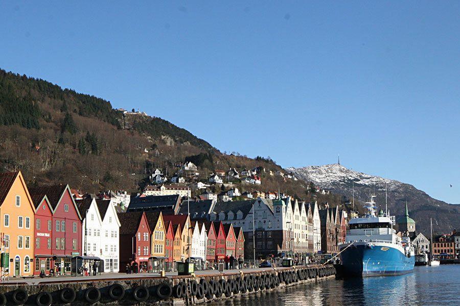 Bergen en Viaje a Noruega