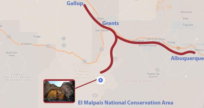 recorrido Santa Fe a Gallup