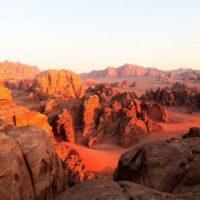 Imagen del desierto de Wadi Rum